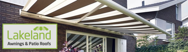 We Are Stockists And Fitters For Lakeland Awnings Patio Roofs